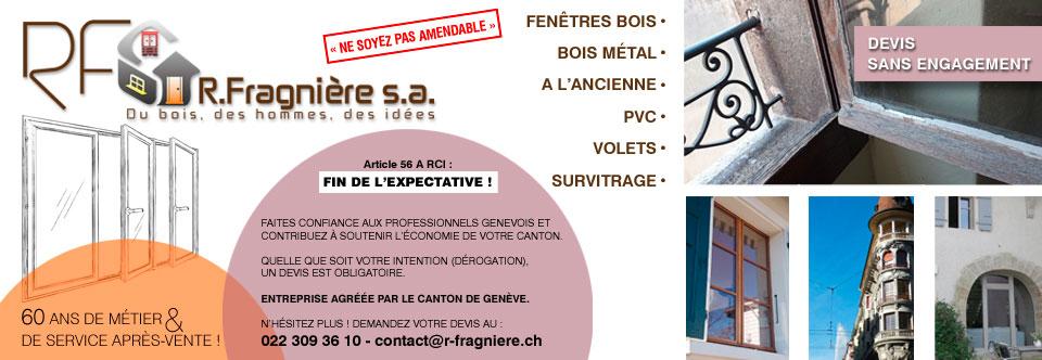 Remise de 5% aux adhérents chez R. Fragnière SA