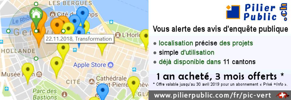 Pilier-public.ch vous alerte des avis d'enquête publique