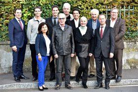 Le comité de Pic-Vert Assprop Genève - octobre 2017 © David Rosembaum Katzman.