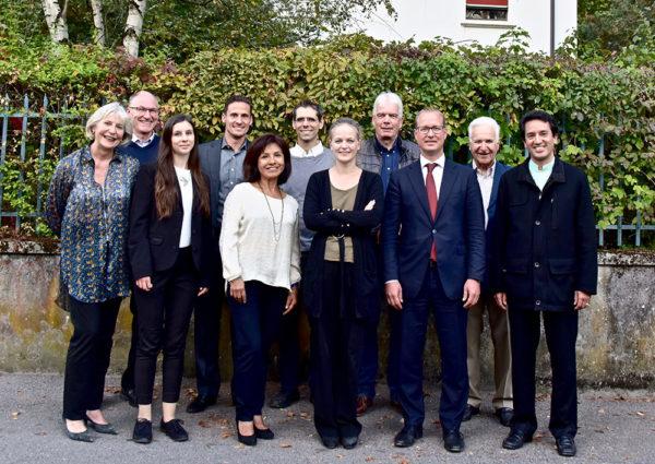Le comité de Pic-Vert Assprop Genève - octobre 2018 © David Rosembaum Katzman.